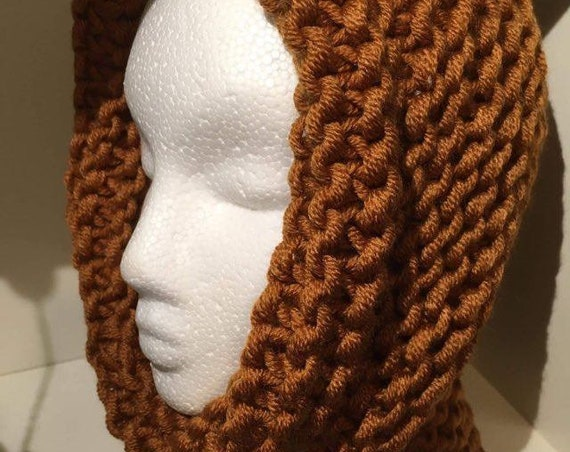 Snood, Cowl, Collar, wear 3 ways HandKnit in Ireland Etsy Ireland More Colours available