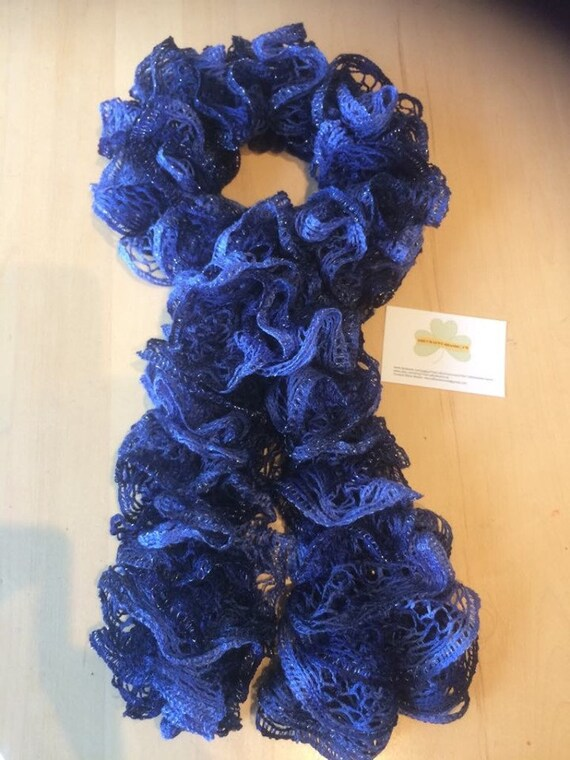 Lace Knit Scarf, Handmade in Ireland, Gift Box, Gift for Her, accessories