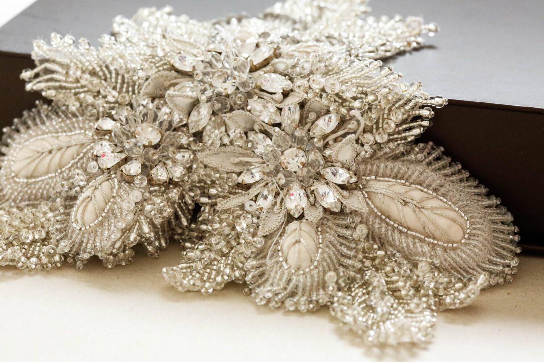 Unique Wedding Dress Sashes Belts: Bridal Belt Applique Bridal Belts And Sashes Unique Bridal