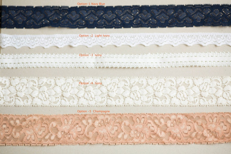 Bridal Garters Style GS01 Ready to Ship Wedding Garters