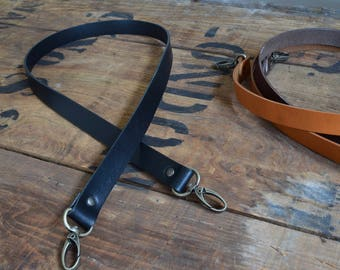 Replacement Leather Shoulder Bag Strap 19mm wide 600mm long, antique brass lobster clasps Crossbody Bag Purse Handbag Luggage Tote Briefcase