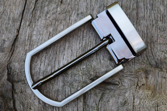 """Replacement Metal Belt Buckle TO FIT 30mm 1 3//16"""" BELT classic Clip On Buckle AC"""
