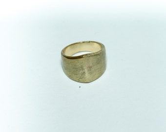 geometric spike ring