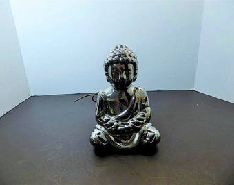 NEW Ceramic Buddha GC Naturals Fragrance Sachet Potpourri Holder Figurine Asian Hindu Zen Spiritaul Religious Gift