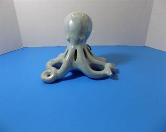 NEW Ceramic Octopus GC Naturals Sachet Holder Potpourri Fish Figurine Home Decor