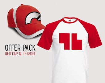 """OFFER PACK Red """"96"""" Champion Trainer T-Shirt and Cap"""