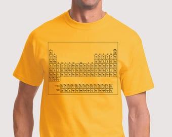 80s Periodic Table T-Shirt