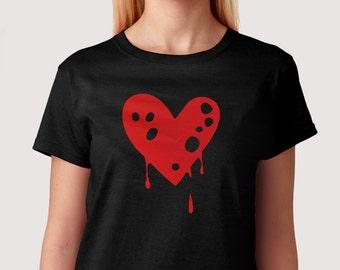Trempage coeur - T-Shirt