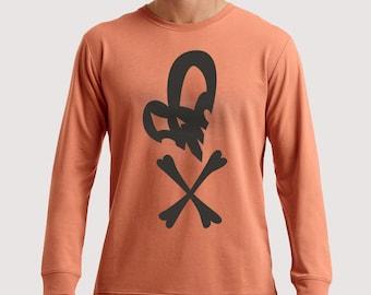 Heart Skull t-shirt and long sleeve shirt