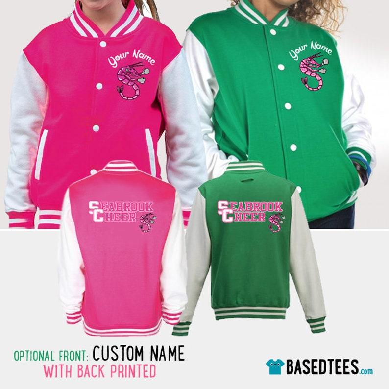 Zombies Varsity Jacket  / Custom Your Name / Printed image 0