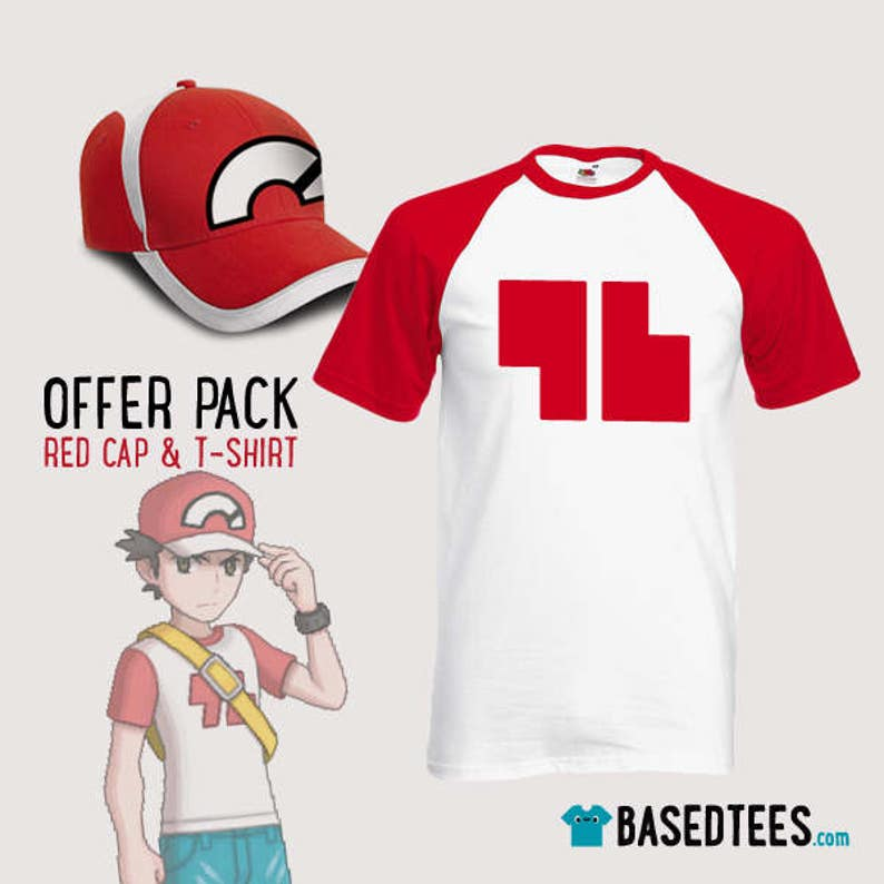 d0bbd5c5a1b1a OFFER PACK Red 96 Champion Trainer T-Shirt and Cap