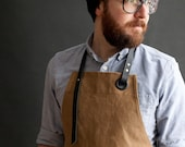 Canvas Apron (tan) /   Tablier en toile (tan)
