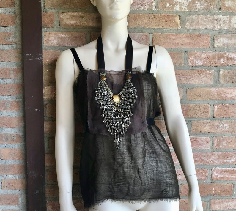 5921e20663d LANVIN top tee jewelry luxury clothing vintage