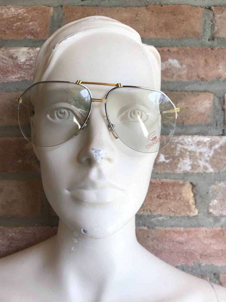 ad60da91c1 CARRERA glasses aviator eye frame unisex half rimmed