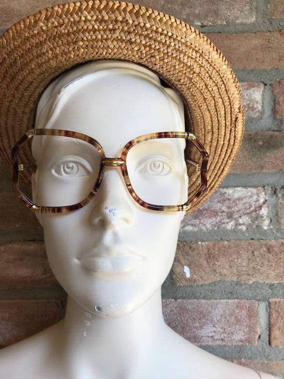 Oversize sunglasses, Ted Lapidus sunglasses, genui