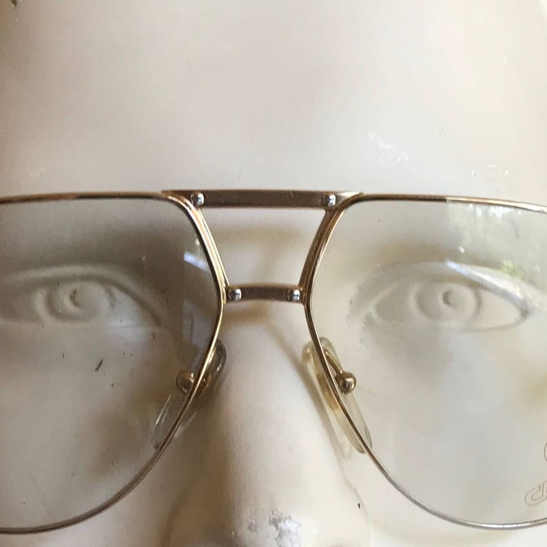 8428f8b719 CARRERA aviator Vintage Men eye frame unworn deadstock metal