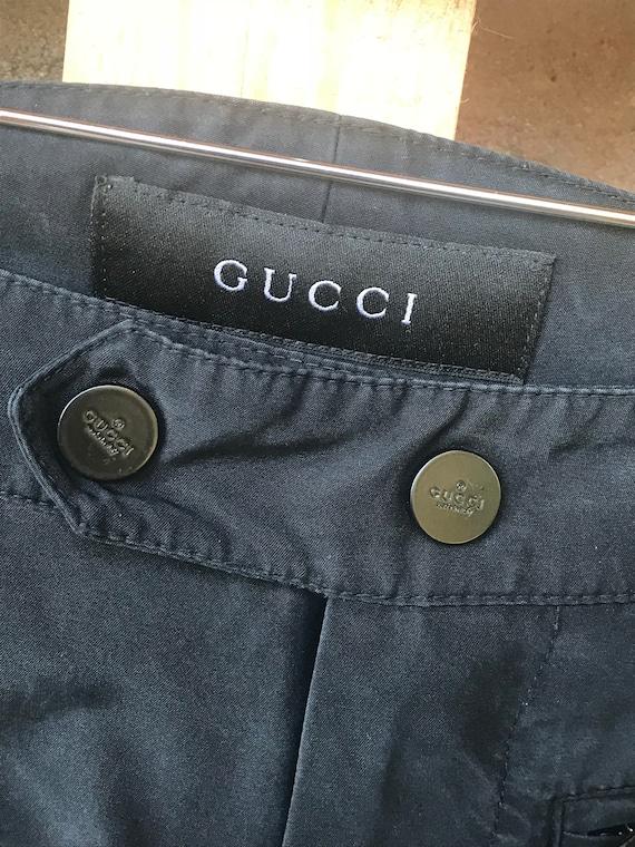 Vintage Gucci silk pants