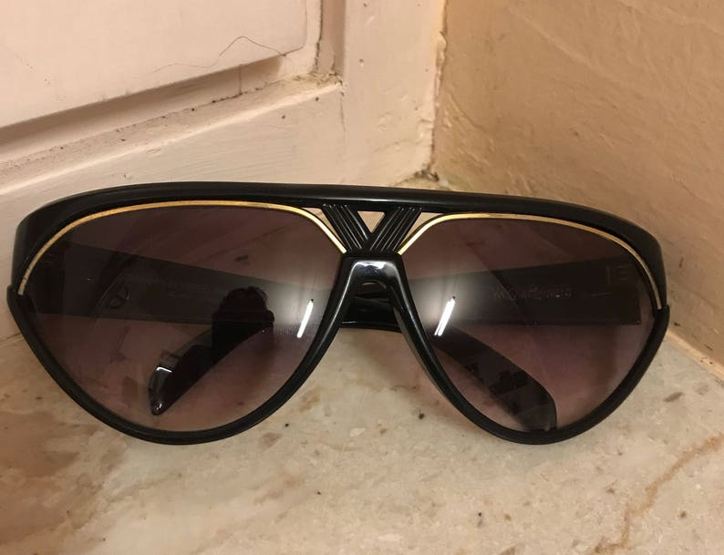Amazing Saint With Lilac Laurent Mens YslYves Sunlenses SunglassesBlack Mask Vintage ymnN8wPOv0