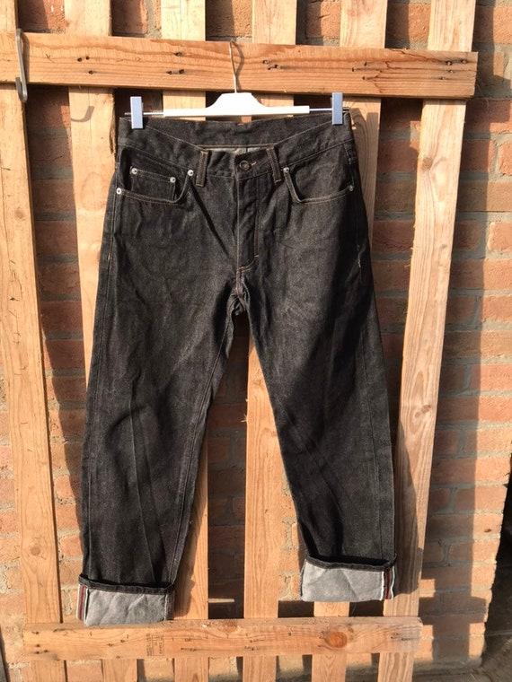 Gucci jeans, vintage black jeans, men's jeans, 199