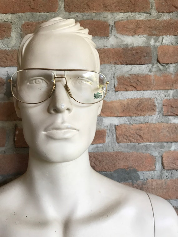 ON HOLD- vintage glasses, Aviator, Lacoste, Vintag
