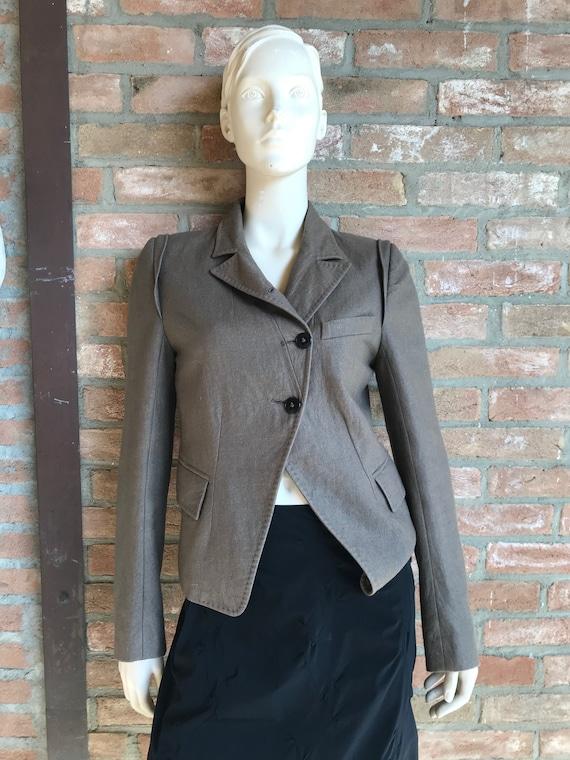 Ann Demeulemeester vintage blazer, natural color,