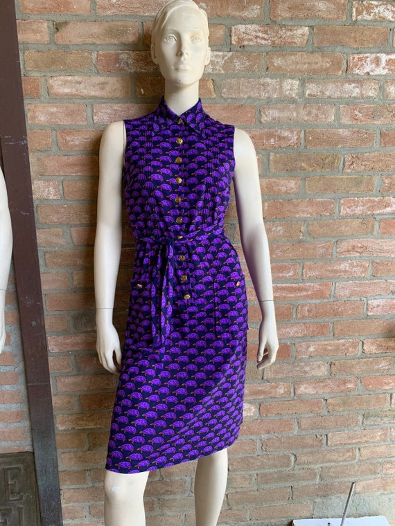 Ken Scott sleeveless dress, vintage chemisier, tor
