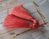 Noble tassel - mala - light red - 7 cm
