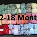 12-18 MONTHS HAND DYED baby tights in a range of beautuiful colours!