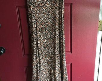 Vintage 1990s contempt casuals wrap dress size 11