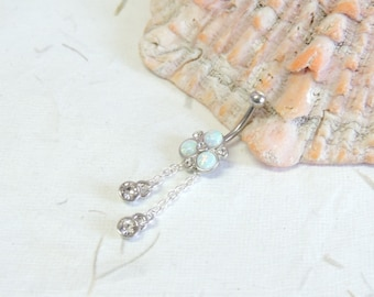 Dangle Belly Ring Etsy