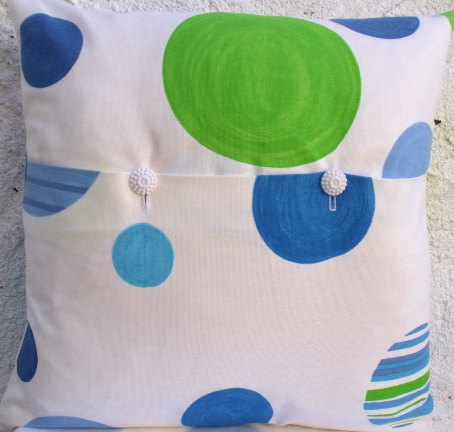 Designers Guild Notting Hill Denim Portobllo Cushion Throw Pillow ...
