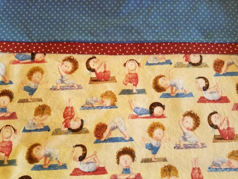 One Pillowcase with Yoga Print