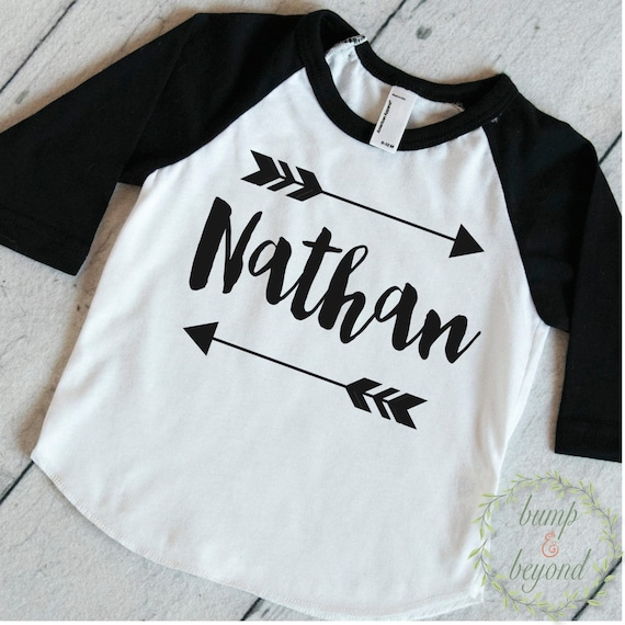 fd81c7251 Baby Boy Clothes Personalized Name Shirt Hipster Baby Clothes