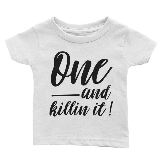 1st Birthday Shirt Boy First Outfit Trendy One Year