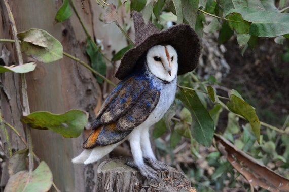 Witch Barn Owl - by Harthicune