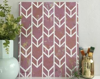Penny Abstract Fine Art, Original Art, Line Work, Modern Art, Original Painting, Wall Art, Canvas Art, Fine Art, Geometric Art