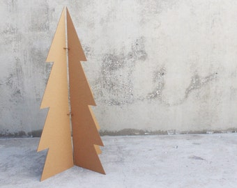 Modern 6ft Cardboard Christmas Tree