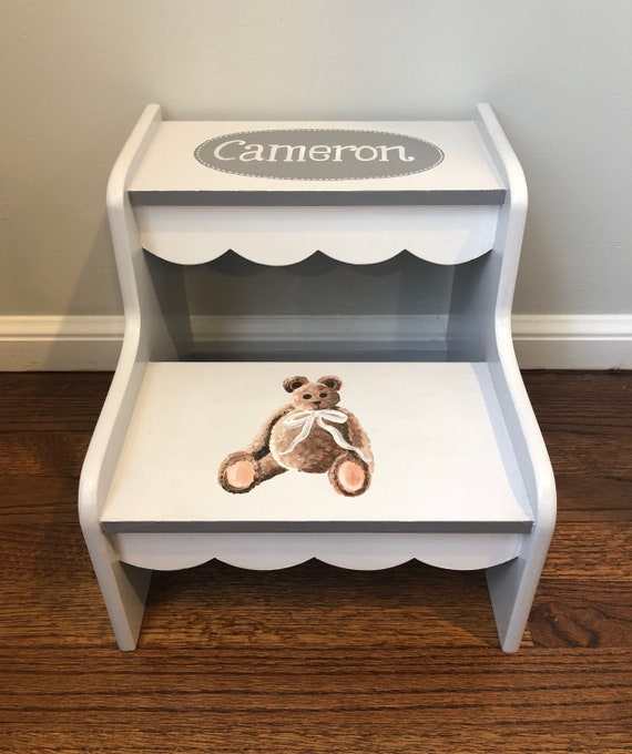 Outstanding Tailored Teddy Bear Step Stool Pdpeps Interior Chair Design Pdpepsorg