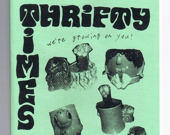 Thrifty Times 24 - A Zine about Thrifting