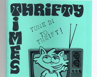 Thrifty Times 40 - A Zine about Thrifting