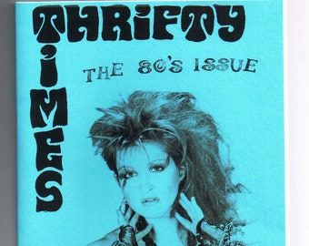 Thrifty Times 43 - The 80s Issue - A Zine about Thrifting