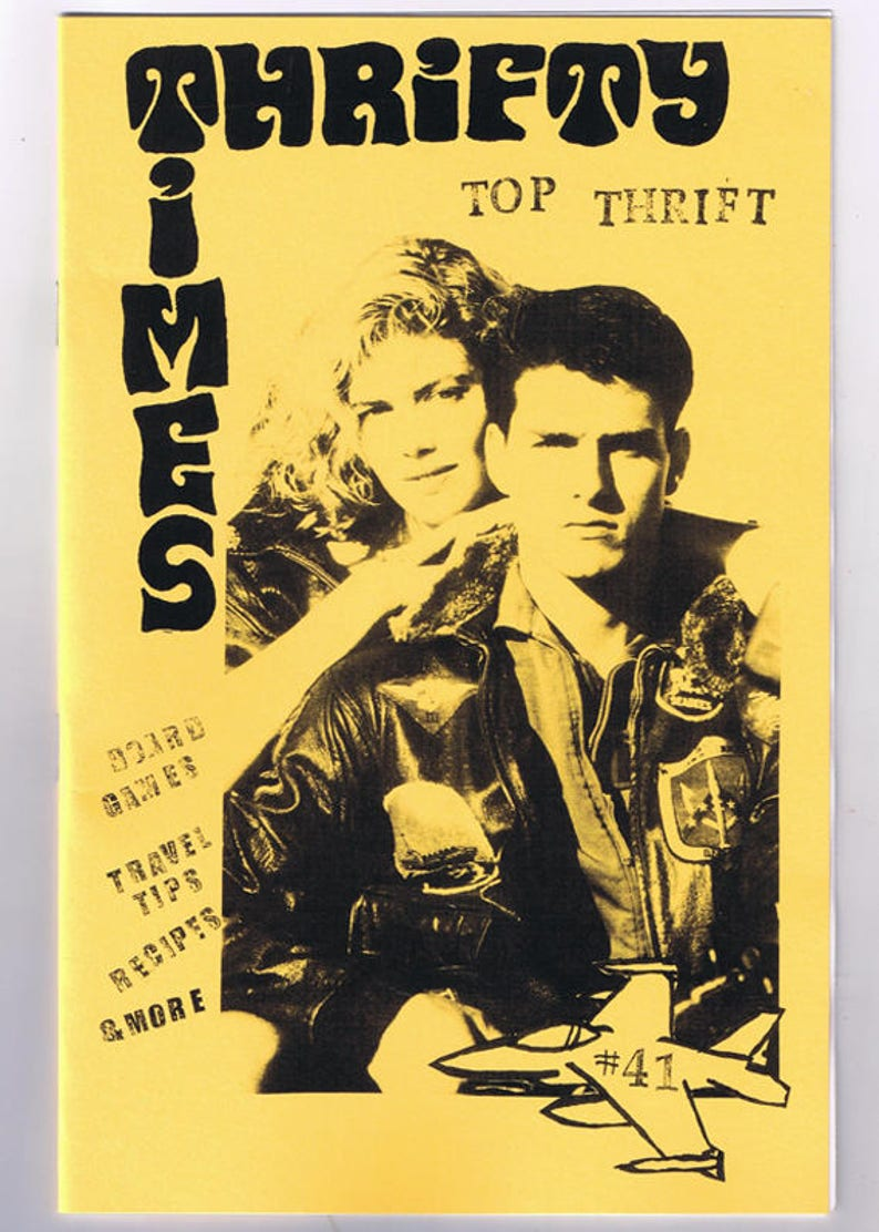 Thrifty Times 41  A Zine about Thrifting image 0