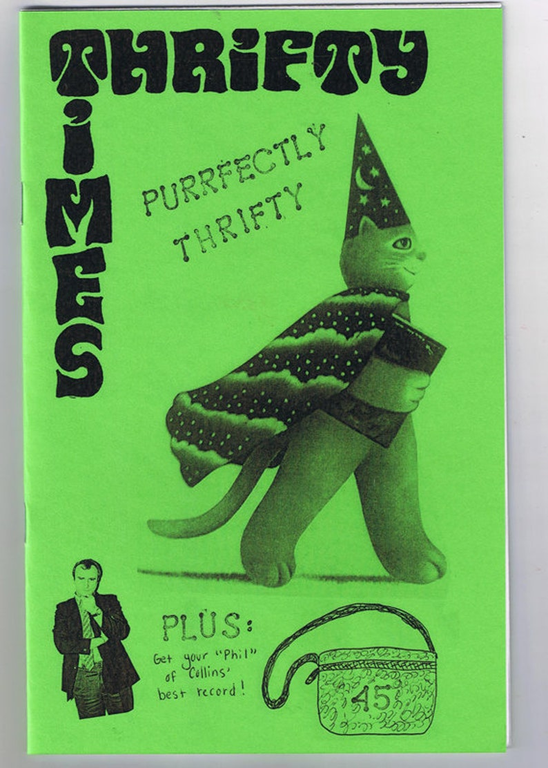 Thrifty Times 45  A Zine about Thrifting image 0