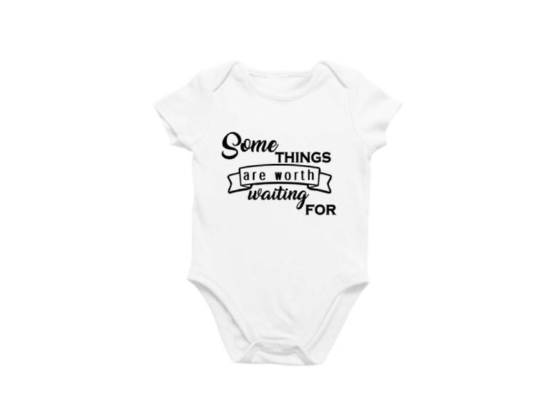 Some things are worth waiting for SVG cut file pregnancy image 0
