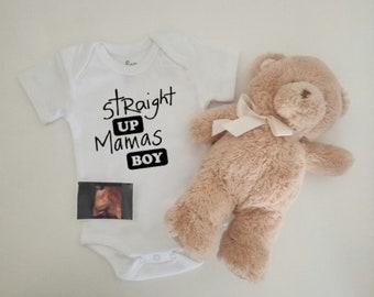 Straight up mamas boy SVG. Digital SVG file - straight up mamas boy