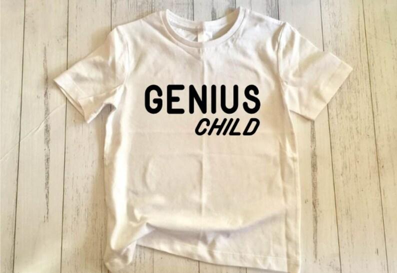 Genius Child SVG cut file image 0