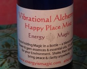 Happy Place Space Clearing Spray - Smoke-free Smudge Energy Essence
