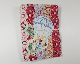 B6 Size Fabric Snippets Traveler's Notebook Cover
