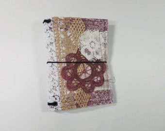 Pocket Size Fabric Snippets Traveler's Notebook Cover