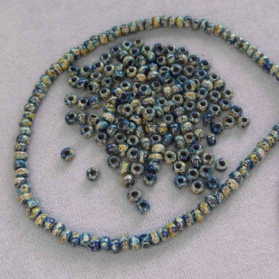 Size 6//0 Miyuki Seed Beads Picasso Colors 3 X 20 Gram Tubes Bundle of 3 Colors